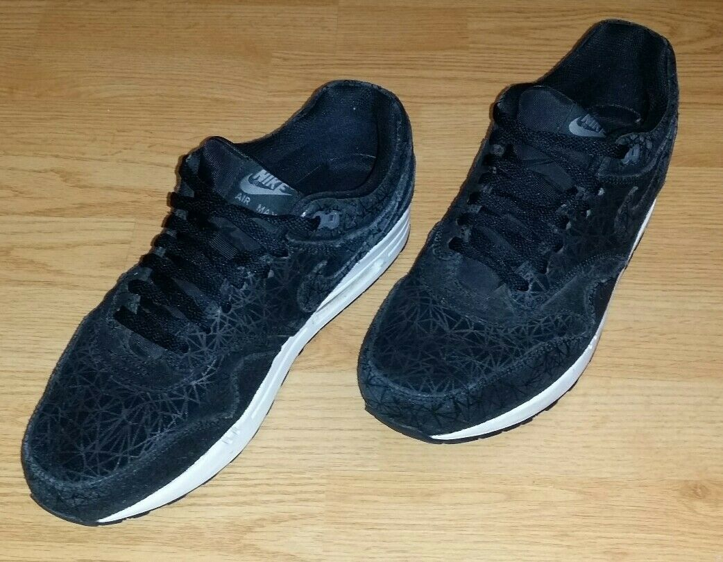 Men's Nike Air Max 1 Prm Geometric Running Shoes Size 12 (512033-005) (M-138)