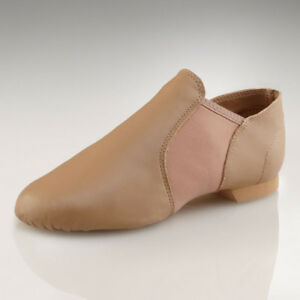 Image is loading Capezio-E-Series-Jazz-Slip-On-Shoe-Style-