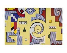 Roy Lichtenstein Amerind Composition II Poster Kunstdruck Bild 28x35,5cm