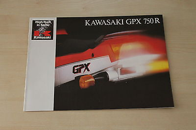 Dependable Performance Kawasaki Gpx 750 R Prospekt 198 Sunny 169485