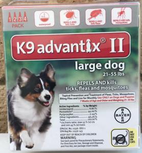 Image Is Loading K9 Advantix II Flea Tick Medicine Large Size
