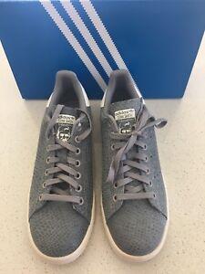 new style 03ee7 01952 La foto se está cargando Nuevas-Adidas-Stan-Smith-Mujeres-9-Calzado-para-