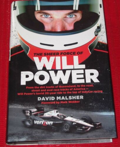 1 of 1 - THE SHEER FORCE OF WILL POWER ~ David Malsher ~ INDY CARD RACING