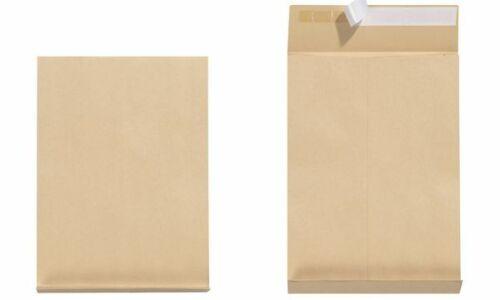 5x herlitz Rides Expédition Sac c4 haftklebend marron 4 cm plis Sac Klotz Sol
