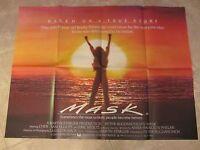 Mask Movie Poster - Cher - Original Uk Quad Poster Rocky Dennis