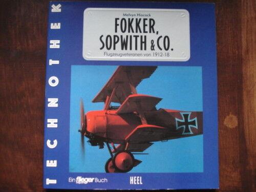 LIBRO Fokker, Sopwith E CO.flugzeugveteranen 1912-18