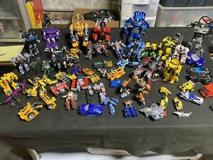 Hasbro SA Tomy transformers Lot Parts Repair Or Customize See Pictures Large Lot