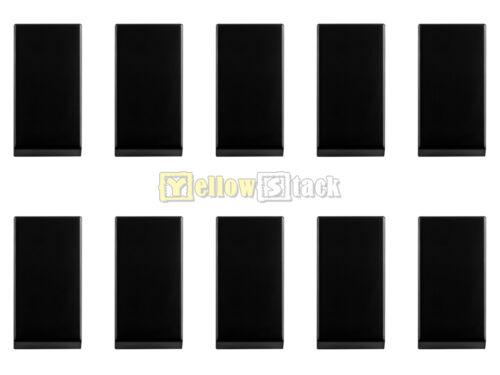 10x LEGO® 3069b 1x2 Fliese schwarz black NEU