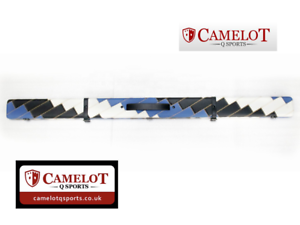 SNOOKER-POOL-3-4-CUE-CASE-BLUE-amp-WHITE-amp-BLACK-PATCHWORK-STYLE-FREE-DELIVERY