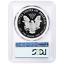 2018-S Proof $1 American Silver Eagle PCGS PR69DCAM FDOI Philadelphia ANA Label
