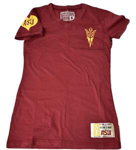 Juniors-NCAA-ASU-Arizona-State-Sun-Devils-Shirt-NWT-XS-S-M-L-XL