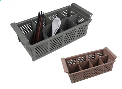Heavy Duty Commercial Cutlery Rack Drainer 8 Section