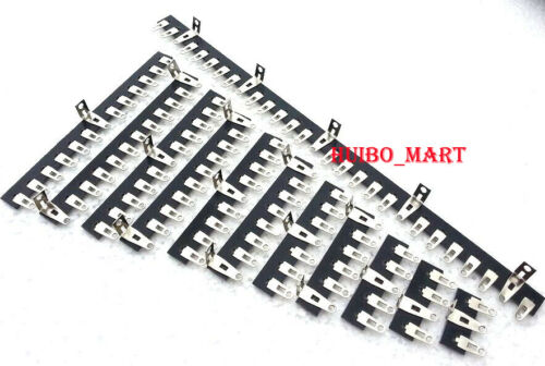 2pcs 4pcs 10pc 10Pin 10-Post Tube Amp HIFI Terminal Strip Tag Board Turret Board