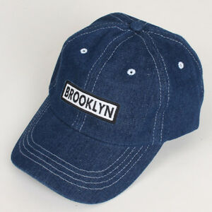 Baseball Cap Hat Blue Jean hat Denim Wash Vintage Look Sports Casual ... e4aa124f89c