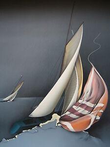 DONADINI Jean-Paul (1951) LITHOGRAPHIE ORIGINALE FORCE 5 (1989) GXhyPkgx-09155101-639768522