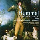 Hummel: Piano Concertos, Vol. 1 (CD, Oct-2012, Brilliant Classics)