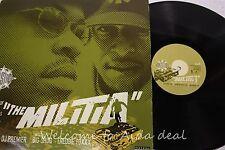 "Gang Starr, The Militia 1998 LP (VG) 12"""