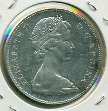 1967 CANADA SILVER DOLLAR, CHOICE AU/BU, GREAT PRICE!