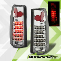 1988-1998 Chevy C/k C10 1500/2500/3500 Blazer Escalade Led Tail Lights Pair on sale