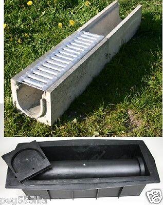 Entwässerungsrinnen - Kunststoff Schalung (Form 299)