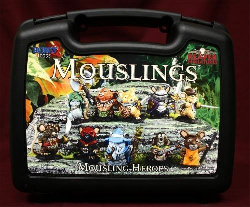 Reaper Miniatures Boxed Set - Mousling Heroes (10)