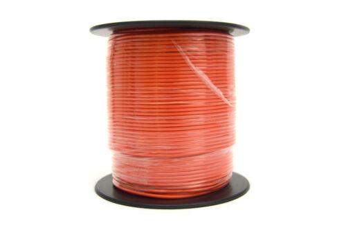Orange 18 GA 500  Feet Audiopipe Primary Power Wire Remote Car Audio Home