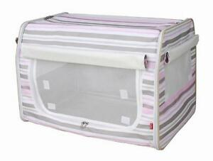 Folding-Zippered-Lightweight-Wire-Framed-Easy-Folding-Pet-Crate