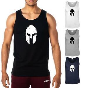 Spartan-Uomo-Gilet-Palestra-Bodybuilding-Stringer-Tank-Top-T-shirt-by-gymtier