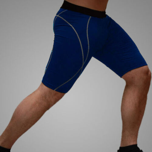 Mens Tight Under Base Layer Pants Compression Shorts Workout Sports GYM Trousers