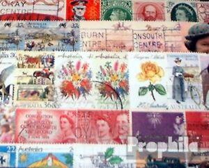 Australien-100-verschiedene-Sondermarken