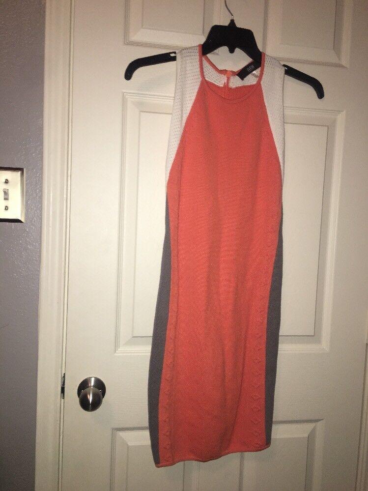 Cut 25 Yigal Azrouel Sexy Bombshell Pencil Sleeveless Scuba Sweater Dress