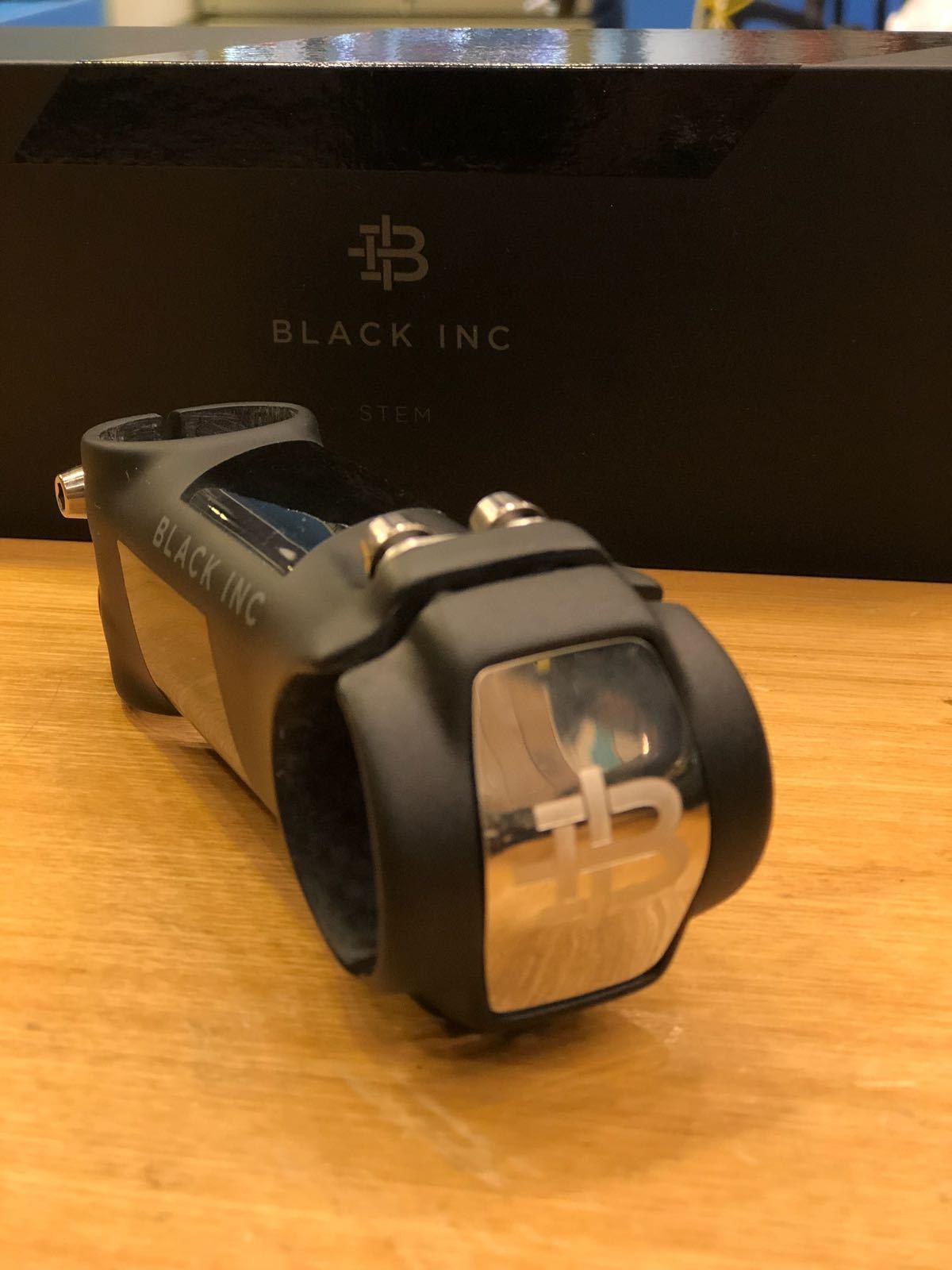 Black Inc Carbon Fiber 6 Degrees 31.8x110mm Road Bicycle Stem Matte-Black