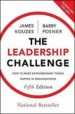 J-B Leadership Challenge Kouzes/Posner: The Leadership Challenge : How to Make Extraordinary Things Happen in Organizations 204 by Barry Z. Posner and James M. Kouzes (2012, Hardcover)