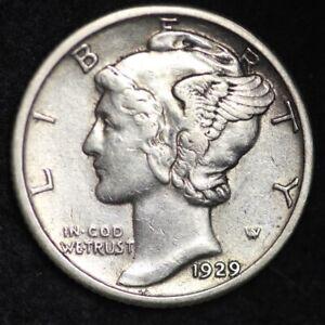 1938 Mercury Silver Dime AU FREE SHIPPING