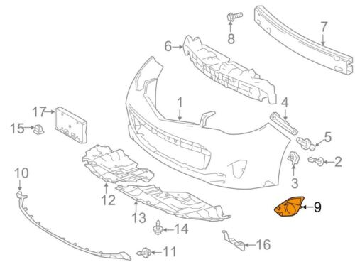 For Toyota Genuine Jack Plug Cover Front Right 5212707060