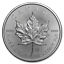 Piece-Argent-1-Once-Canada-2019-Maple-Leaf-1-Oz-Silver-Coin-5 miniature 1