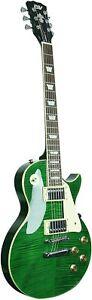 Ivy-ILS-300-EGR-Les-Paul-Solid-Body-Electric-Guitar-Emerald-Green-super-bundle