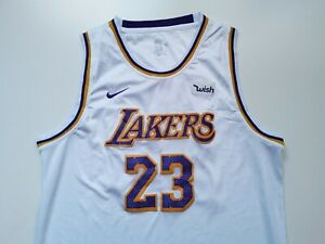 Details about NIKE WISH LOS ANGELES LAKERS NBA BASKETBALL JERSEY LEBRON JAMES #23 SIZE 54
