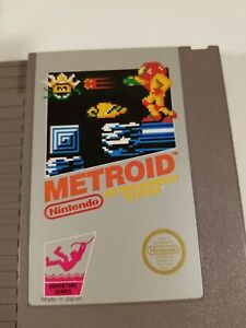 Lot-of-two-Nintendo-Entertainment-System-NES-games-Metroid-plus-Trog-Authentic