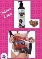 Ann Slim Combo Caffeine Cream Osmotic Paper Burning Fat Anti-cellulite Waist 8oz