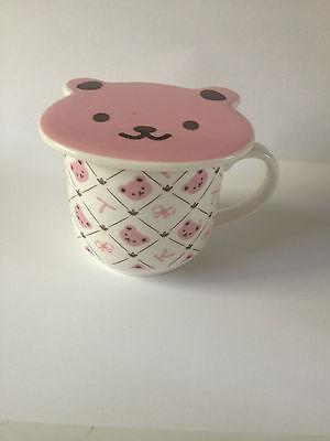 Rilakkuma - Hello Kitty Friends Cup Mug and Lid- Genuine