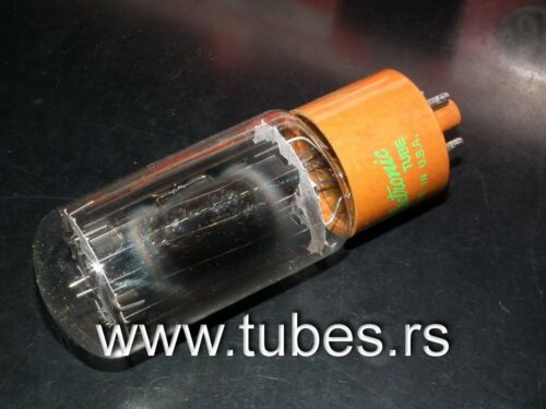 5R4GYA General Electric NOS NIB Brown Base Vintage Rectifier Tube