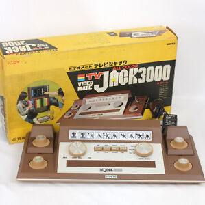 VIDEO-MATE-TV-JACK-3000-JUNK-Console-System-Boxed-Not-Working-BANDAI-Ref-506060