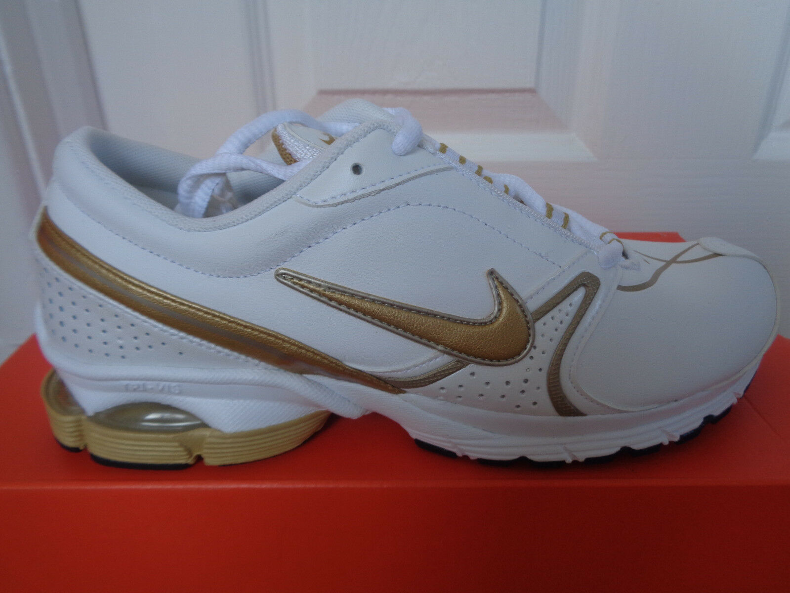 Nike Air Vapor III Cuir Wmns Baskets 318251 171 UK 5 EU 38.5 US 7.5 Neuf + Boîte