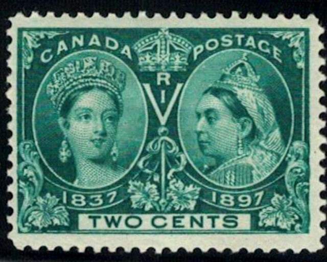 Canada Stamp #52 - Queen Victoria Jubilee (1897) 2¢ MLH