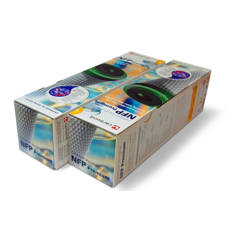 CARBONIT NFP premium 2er Filtre Cartouche filtre à eau