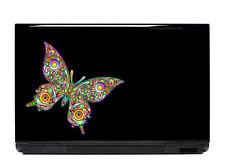 Butterfly Vinyl Laptop or Automotive Art sticker decal computer auto netbook