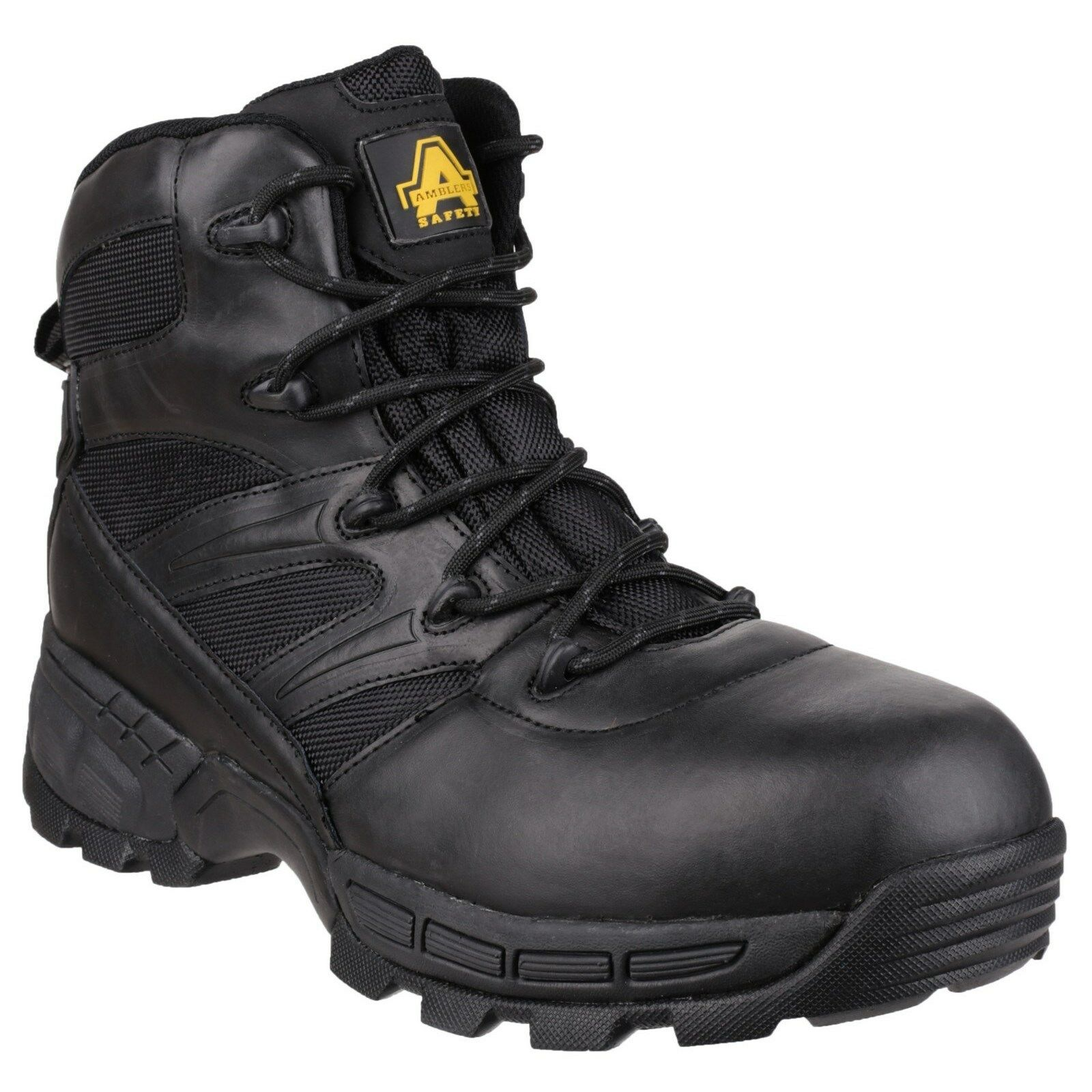 Amblers Toe FS410 Piranha Safety botas Hombre S3 Steel Toe Amblers Cap Waterproof Leather Work b388de