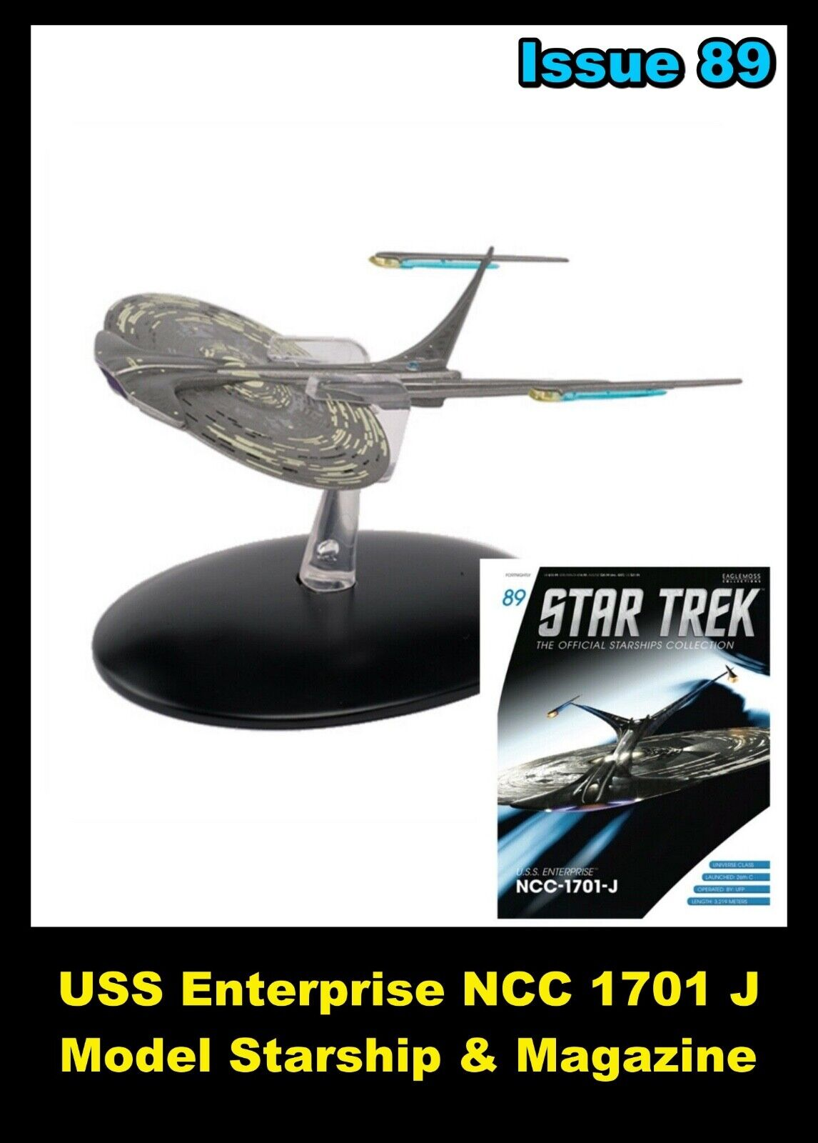 Issue 89 USS Enterprise - J