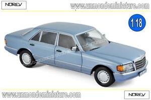 Mercedes-benz 560 Sel 1990 Norev métallisé bleu perle - N ° 183464 Echelle 1/18